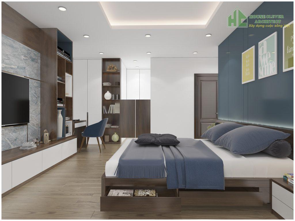 Nội thất phòng ngủ với công năng tiện nghi, khoa học