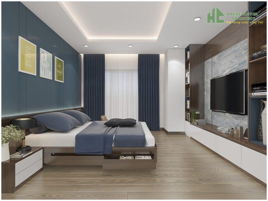 Nội thất không gian phòng ngủ bố mẹ đẹp hiện đại và tinh tế
