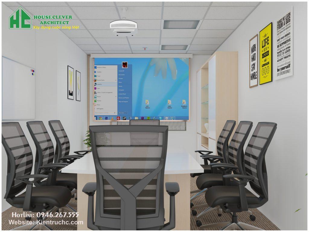 Thiết kế thi công nội thất văn phòng – phòng họp