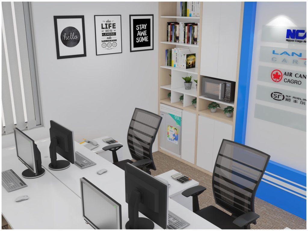 Thiết kế thi công nội thất văn phòng hiện đại  và khoa học