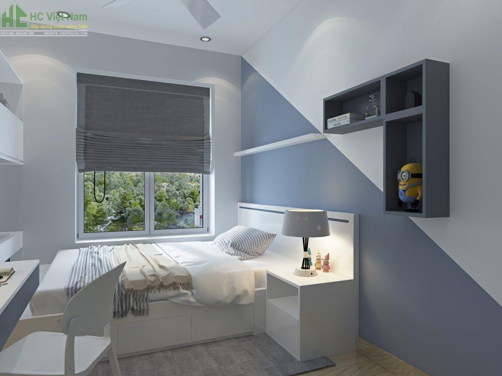 Thiết kế nội thất phòng ngủ con phong cách hiện đại
