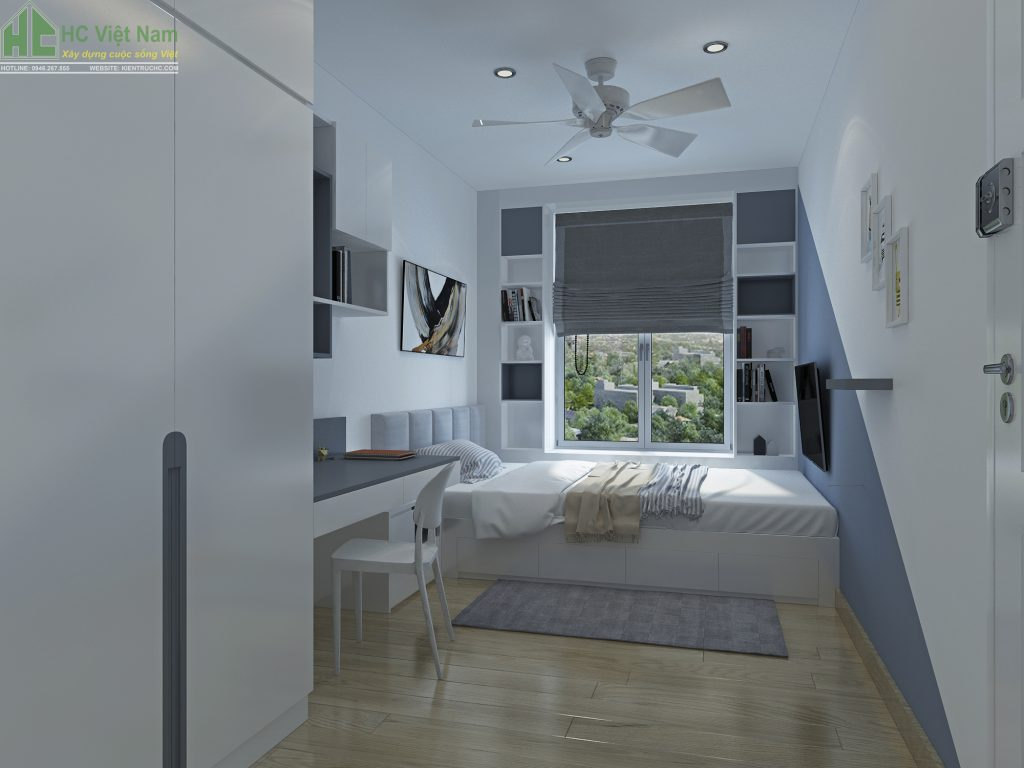 Mẫu thiết kế phòng ngủ con tiện nghi, khoa học và phù hợp với lứa tuổi