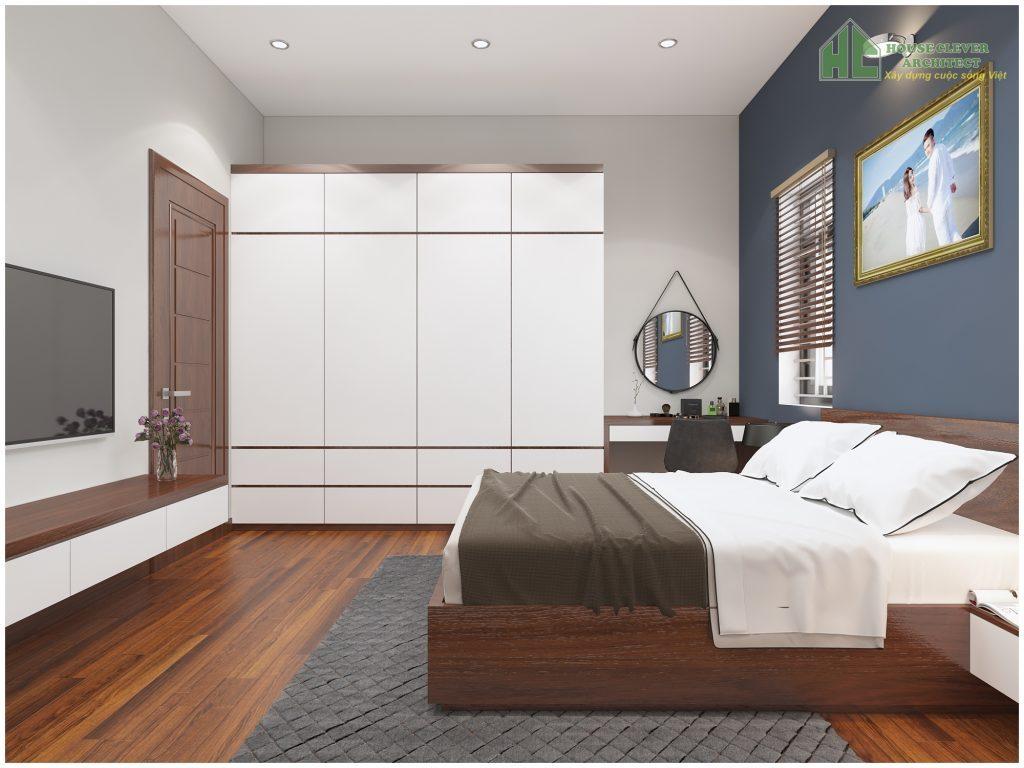 Nội thất không gian phòng ngủ đầy tinh tế