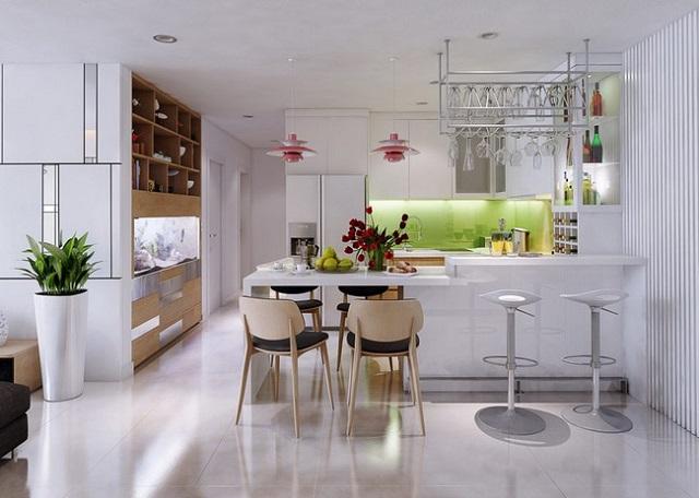 thiết kế căn hộ chung cư 70m2