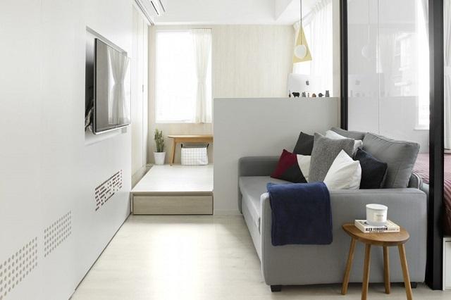 trang trí phòng khách chung cư nhỏ