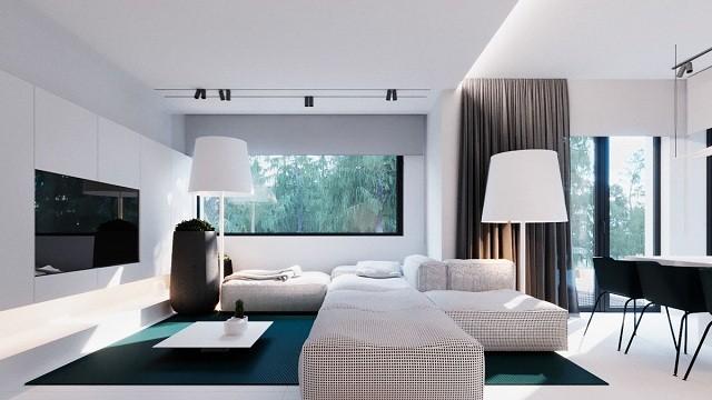 phòng khách màu trắng 25