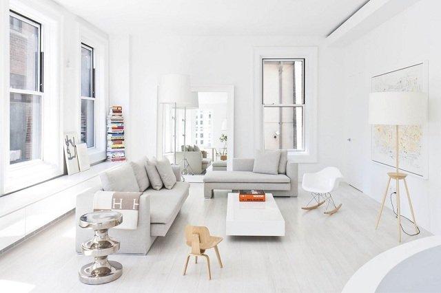 phòng khách màu trắng 27