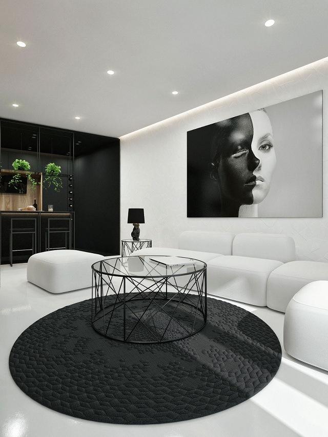 không gian phòng khách hoàn hảo