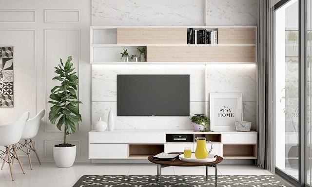 phòng khách màu trắng 11