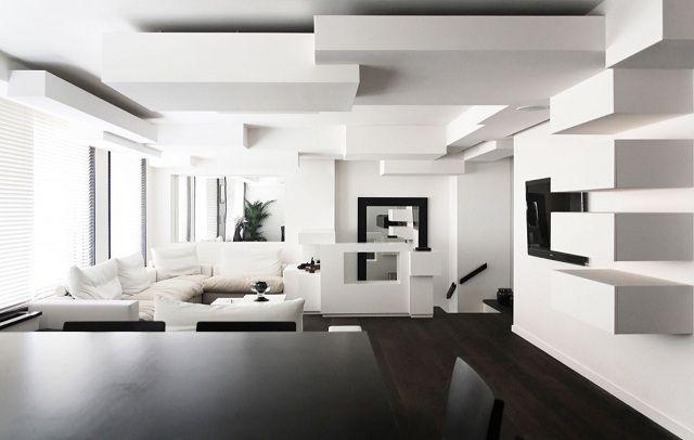 phòng khách màu trắng 23