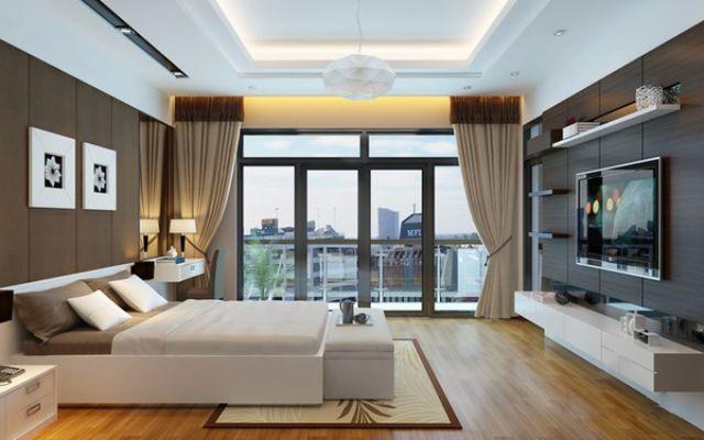 thiết kế căn hộ 80m2 3 phòng ngủ