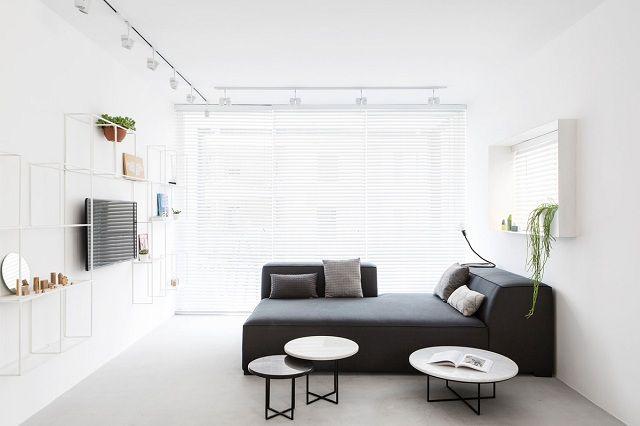 phòng khách màu trắng 2
