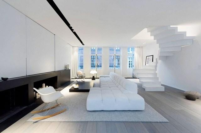 phòng khách màu trắng 6