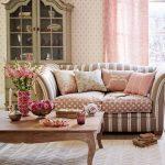 Ý tưởng trang trí phòng khách cho những nàng yêu thích màu hồng