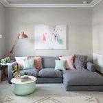 [Khám phá] 20+ Ý tưởng trang trí phòng khách màu xám đầy hiện đại và thanh lịch