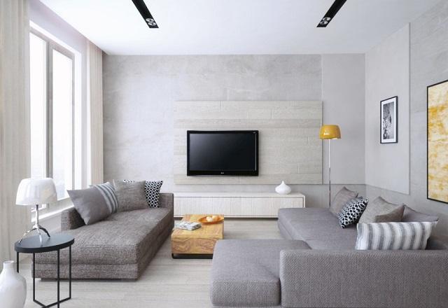 Sơn tường màu sáng là cách giúp phòng trở nên thoáng đãng, mát mẻ hơn