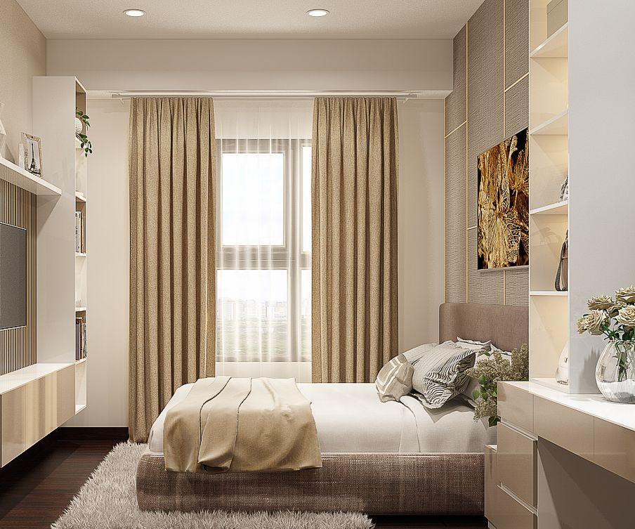 thiết kế nội thất phòng ngủ nhỏ 1