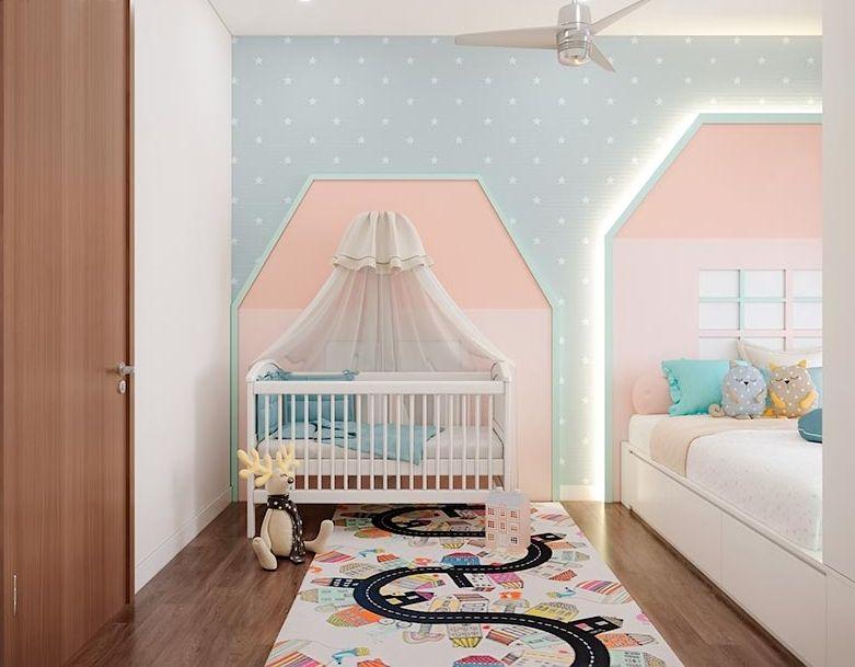 thiết kế phòng ngủ trẻ nhỏ