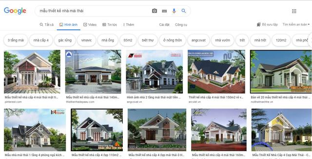 tìm kiếm ý tưởng trên google