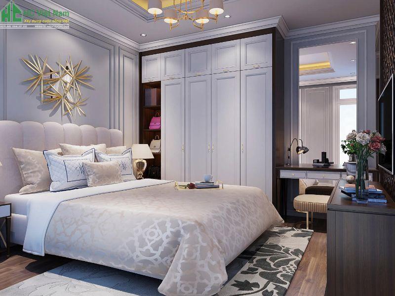 thiết kế nội thất phòng ngủ ba mẹ