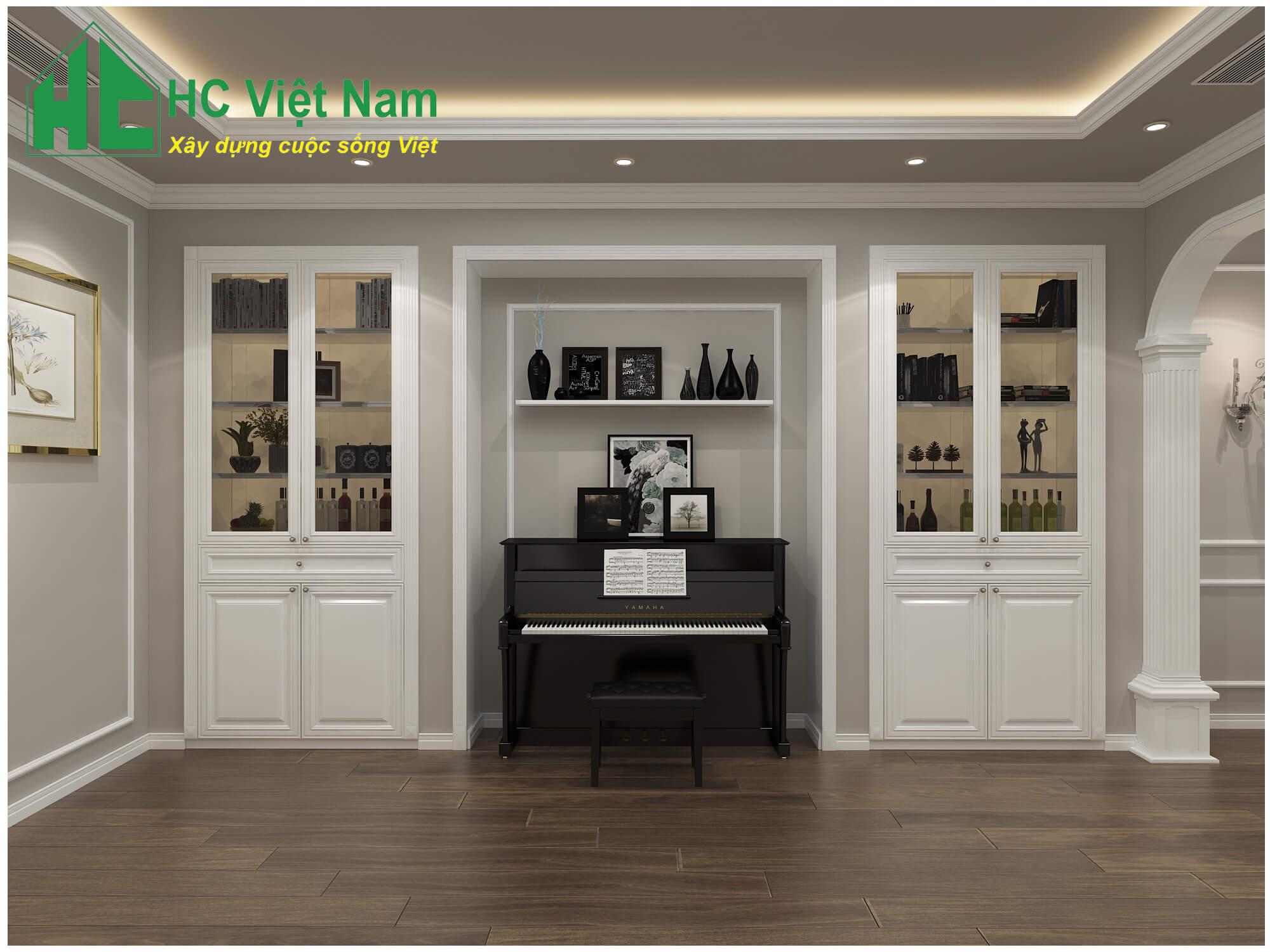 Phong cách thiết kế nội thất tân cổ điển 4