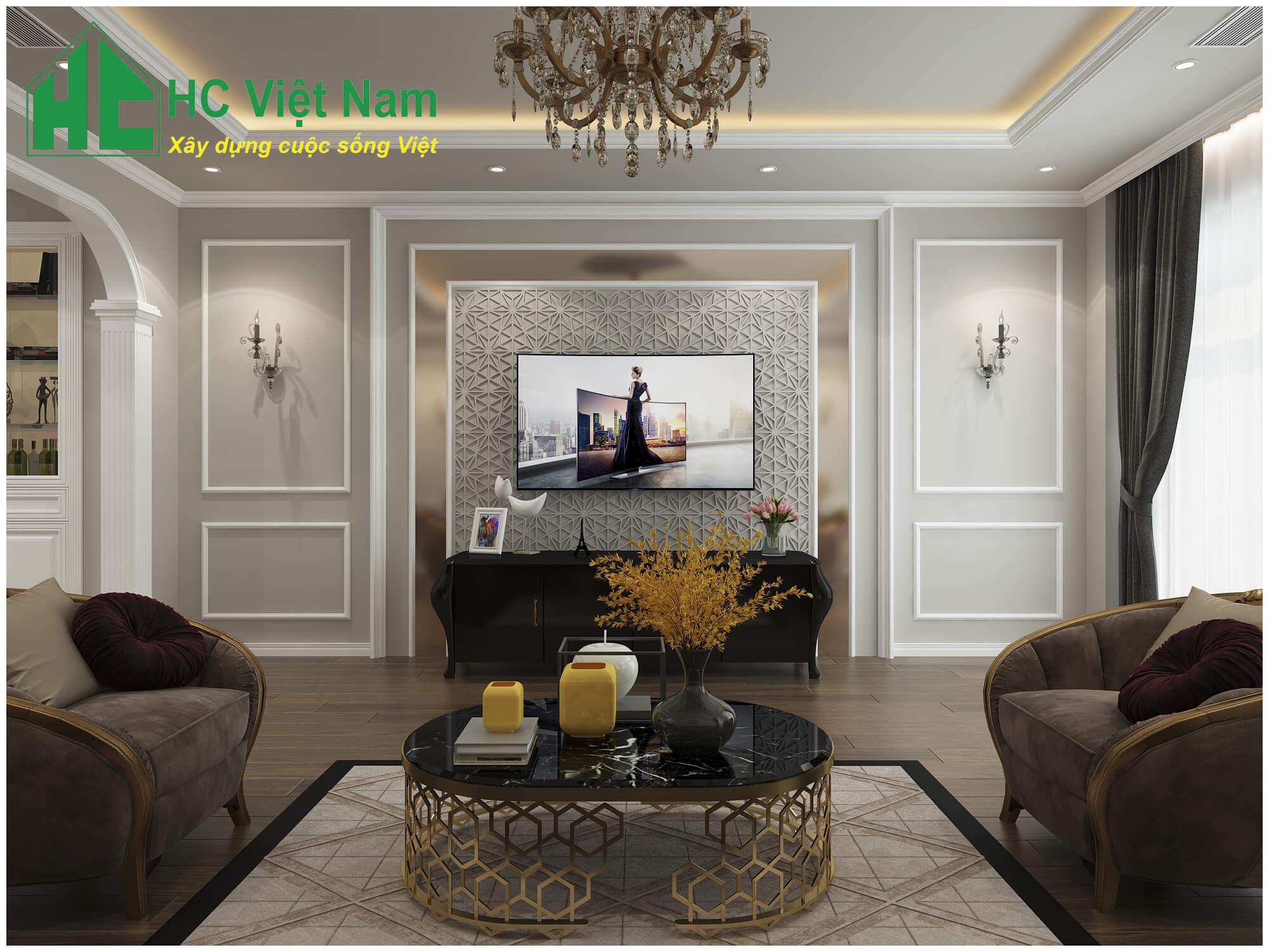 Phong cách thiết kế nội thất tân cổ điển 6