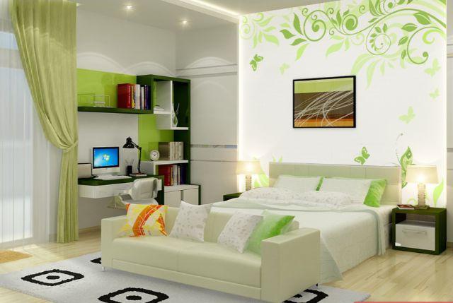 Phòng ngủ theo phong cách hiện đại, trang nhã