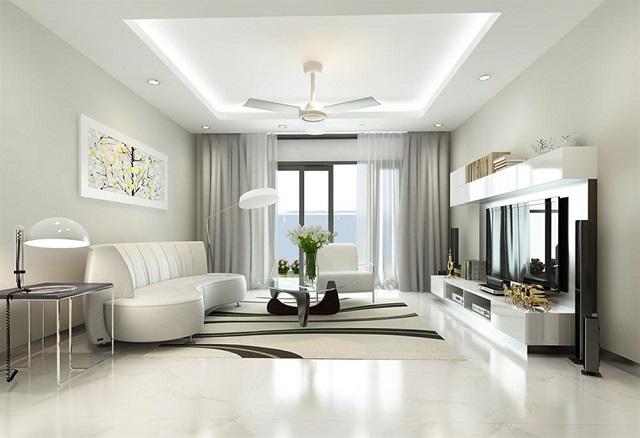 thiết kế nội thất phòng khách 11
