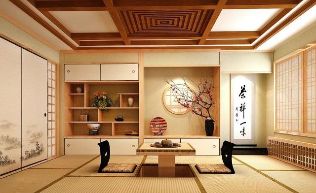 Phong cách thiết kế kiểu Nhật Bản truyền thống