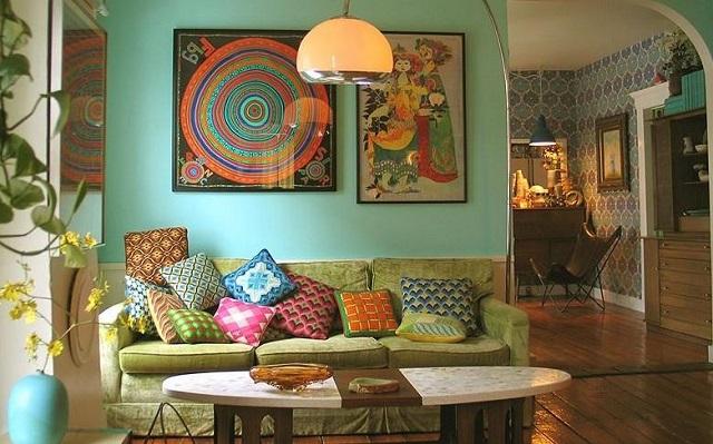 Phong cách thiết kế nội thất Retro 1