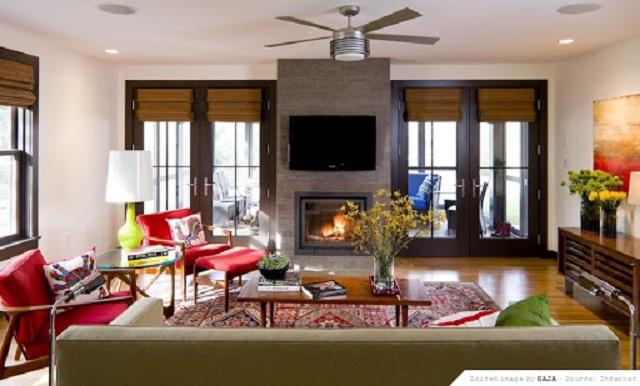 Phong cách thiết kế nội thất Retro 3