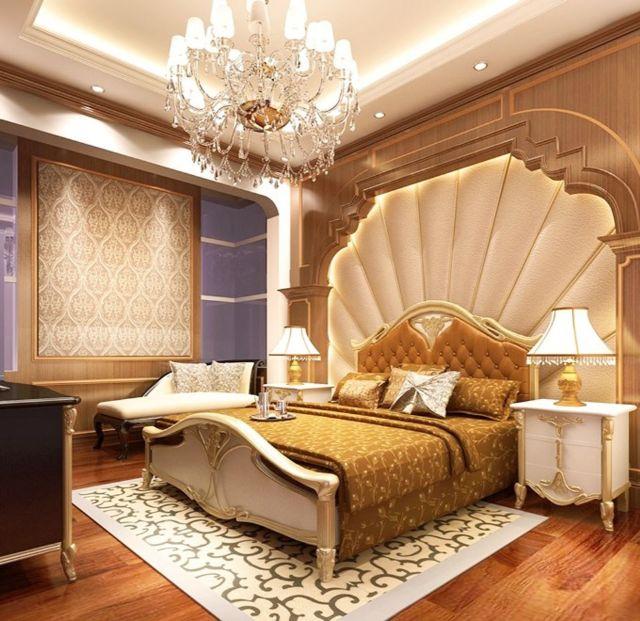Phòng ngủ tân cổ điển sang trọng