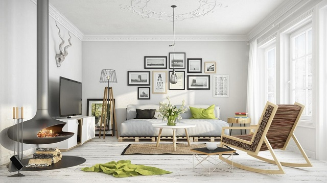 Thiết kế nội thất theo phong cách Scandinavian 1