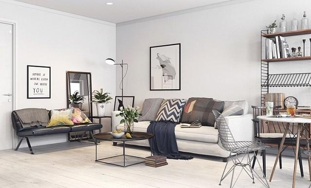 Thiết kế nội thất theo phong cách Scandinavian 3