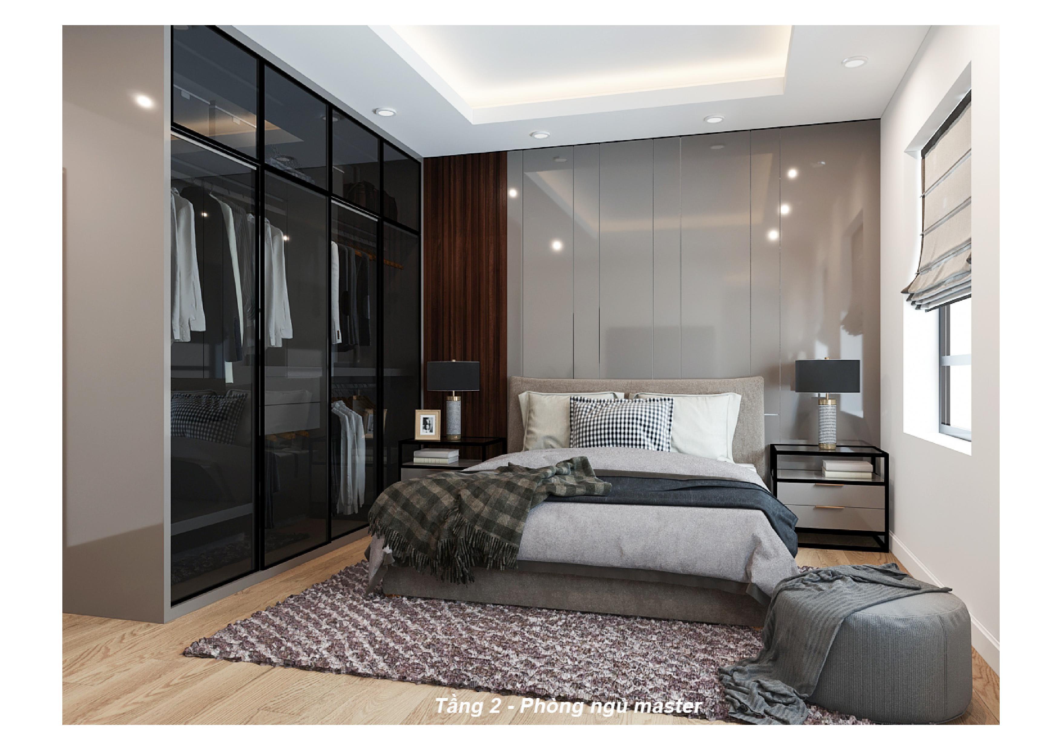 Thiết kế nội thất phòng khách nhà phố 6
