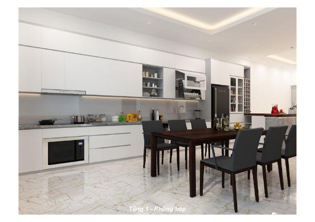 thiết kế nội thất phòng bếp 5
