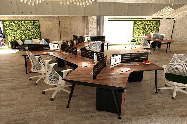 Nội thất văn phòng xanh khơi gợi sự sáng tạo cho nhân viên