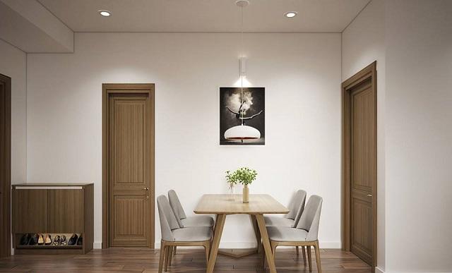 bàn ăn chung cư 4 ghế