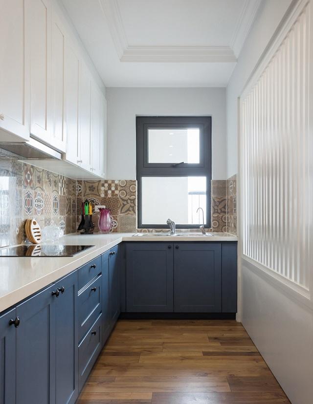 Phòng bếp gắn liền với phòng khách