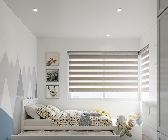Phòng ngủ dành cho con trong căn hộ