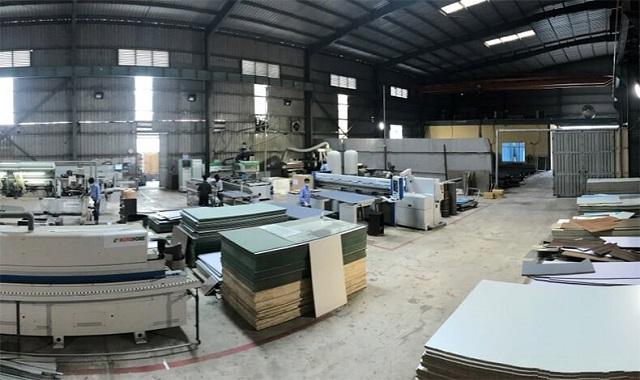 Hình ảnh xưởng sản xuất nội thất chung cư