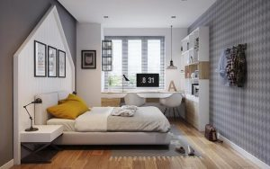 phòng ngủ có gam màu tươi sáng 8