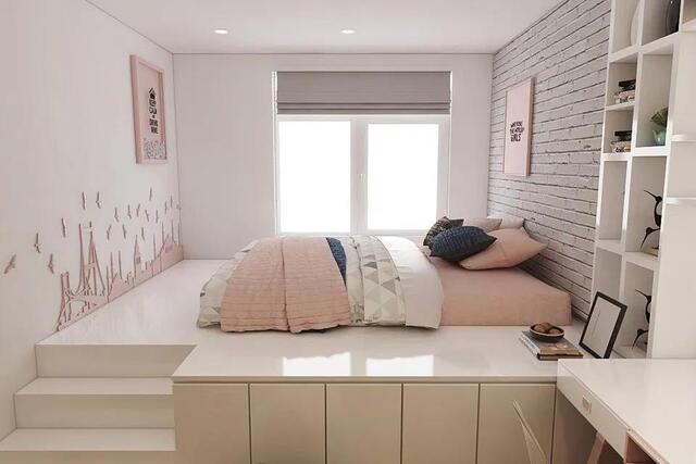 phòng ngủ có gam màu tươi sáng 4