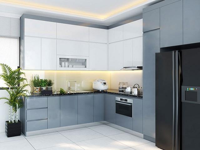 Mẫu tủ này dùng cho những căn hộ có không gian hiện đại, theo style sang trọng