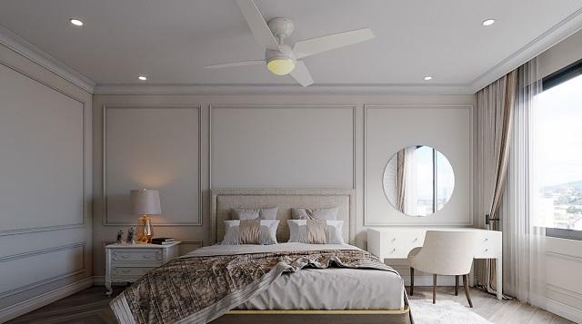 Thiết kế theo mẫu với phòng ngủ 130m2