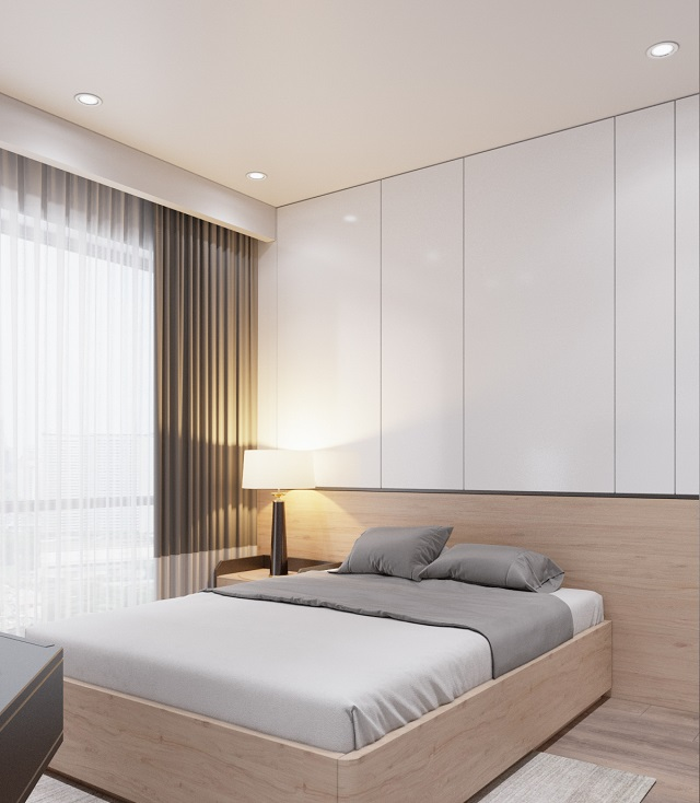 Mẫu nội thất phòng ngủ 60m2