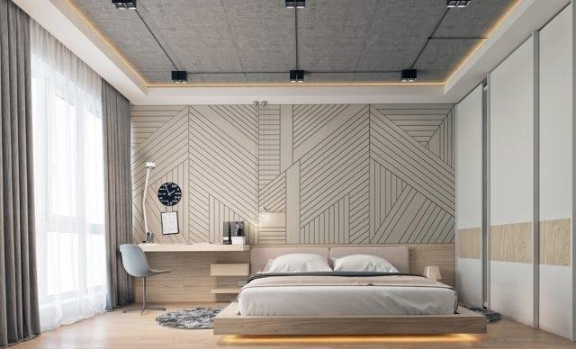 Mẫu nội thất phòng ngủ 80m2