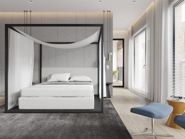 Mẫu nội thất phòng ngủ 90m2