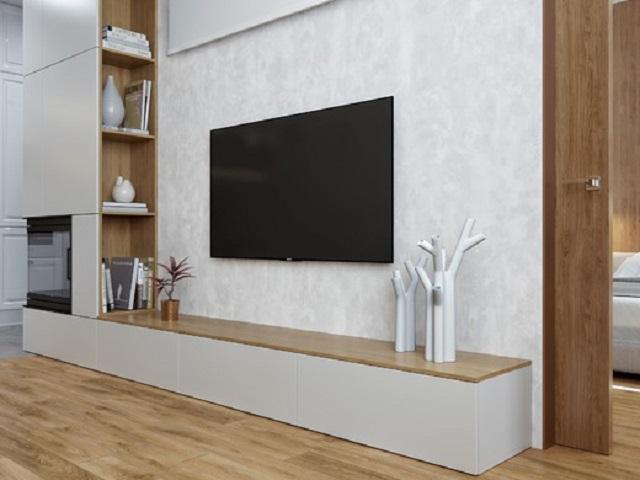 Ti vi tại phòng khách