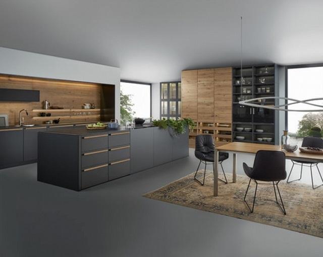 thiết kế nội thất nhà bếp biệt thự 2